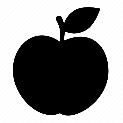 apple, food, fruit, nature, sweet, vegetarian icon