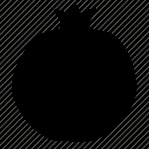 garnet, pomegranate icon