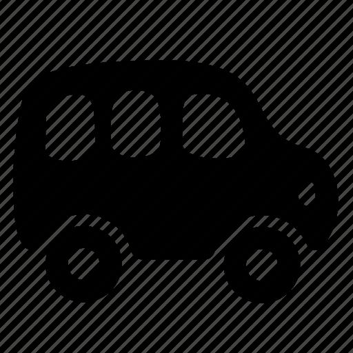 bus, transport, van icon