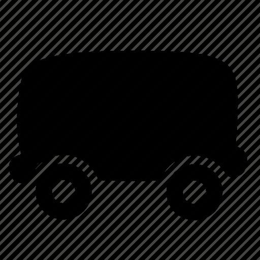 cargo, delivery, logistics, railroad, train, vehicle, wagon icon