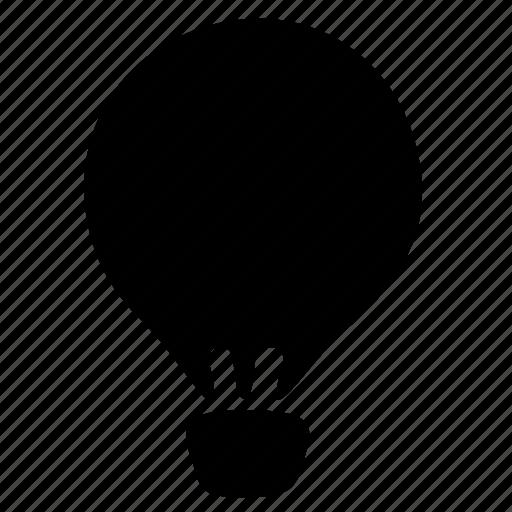 air baloon, travel, trip icon