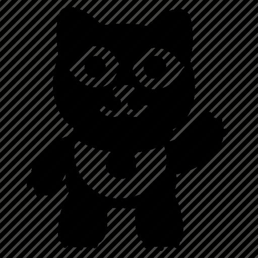 cat, doll, guest, maneki, maneko, neko, smile icon