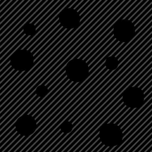confetti, dots icon