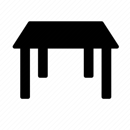 Desk, furniture, interior, office, table icon - Download on Iconfinder