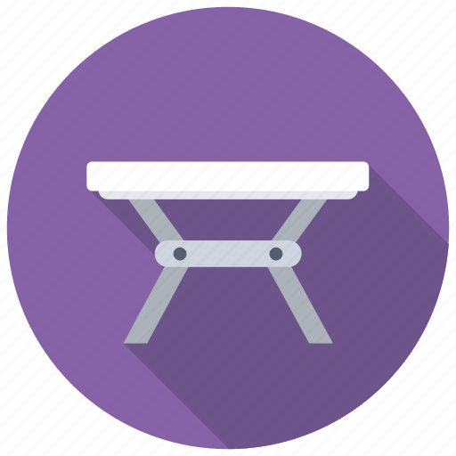 dining table, expanding table, folding table, iron table, table icon