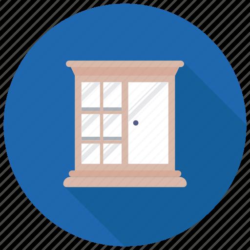 cabinet, closet, corner wardrobe, cupboard, wardrobe icon