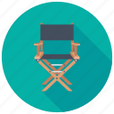 chair, foldable camping chair, folding chair, furniture, lawn chair icon