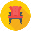 chair, dining chair, furniture, luxury furniture, seat icon