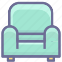 chair, furniture, home, rest, sofa icon