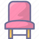 chair, furniture, home, office, rest icon