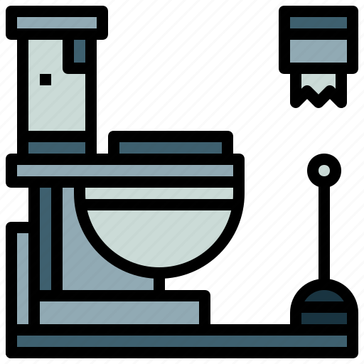 bathroom, miscellaneous, restroom, toilet, wc icon