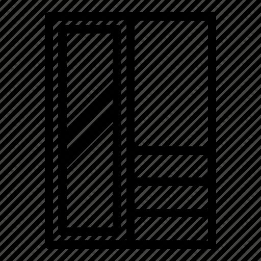 Closet, clothes, cupboard, furniture, wardrobe icon - Download on Iconfinder
