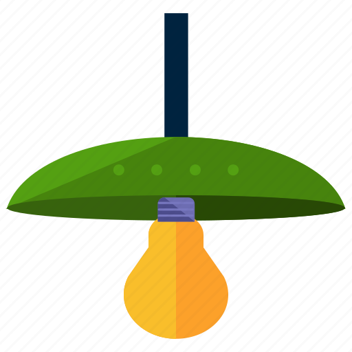 bulb, electric, electricity, hanging, lamp, light icon