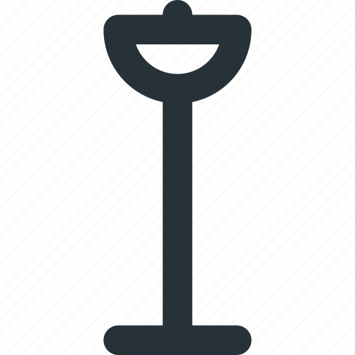 electric, floor, interior, lamp, lighting icon