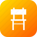 chair, furnishings, furniture, household, sittingbelongings icon
