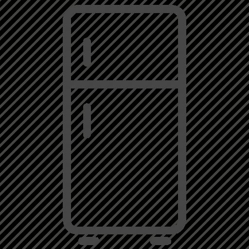 freezer, furniture, interior, kitchen, refrigerator icon