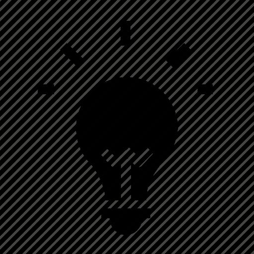 Bulb, light, lightbulb, idea, lamp, think icon - Download on Iconfinder