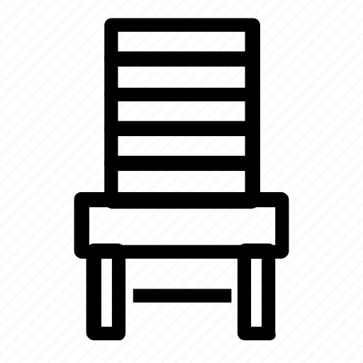 chair, dining, furniture icon