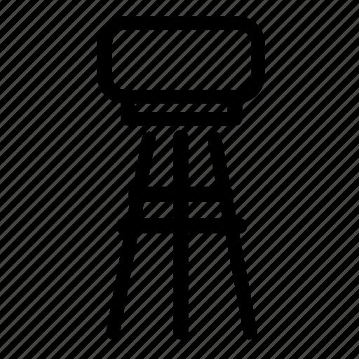 bar, furniture, stool icon