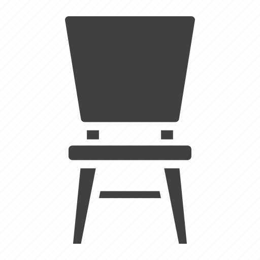 chair, furniture, home, interior, sit, stool icon