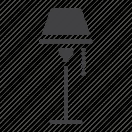 bulb, decor, floor, furniture, interior, lamp, light icon