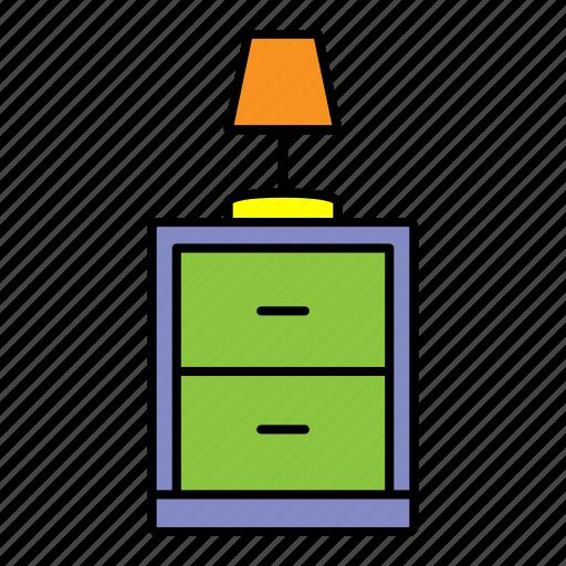 collection, furniture, interior, lamp, room icon