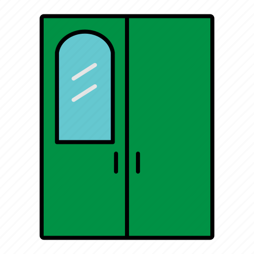 application, collection, furniture, interior, room, wardrobe icon