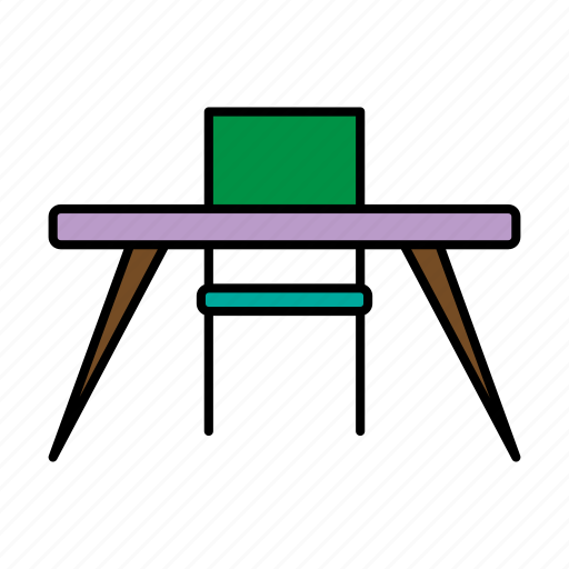 chair, collection, furniture, interior, table icon
