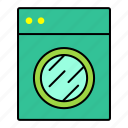 collection, furniture, interior, machine, washing icon