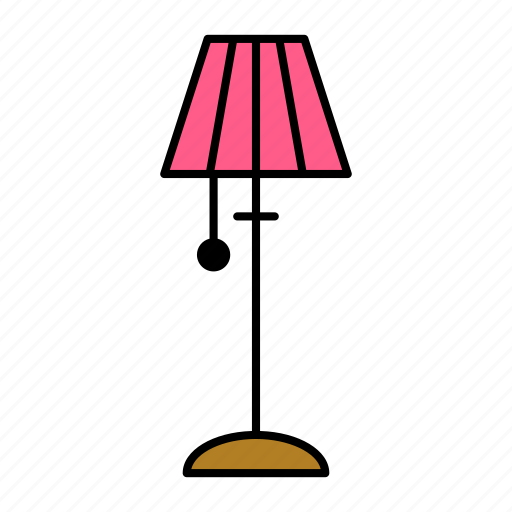 collection, furniture, interior, lamp icon