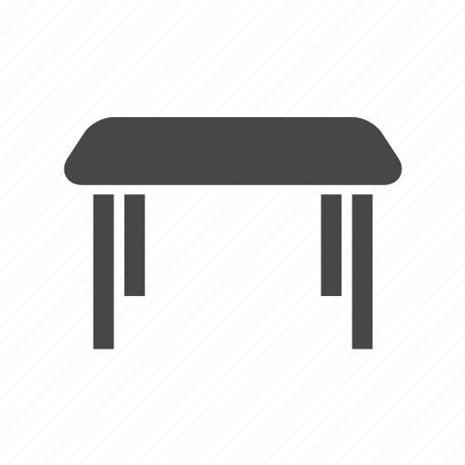 coffee table, desk, furniture, table icon