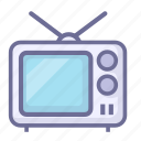 electronics, news, television, tv icon