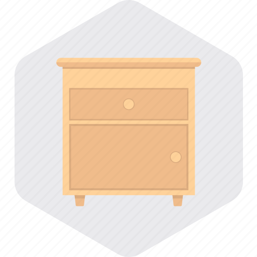 Cupboard, desk, drawers, furniture, home, table icon - Download on Iconfinder