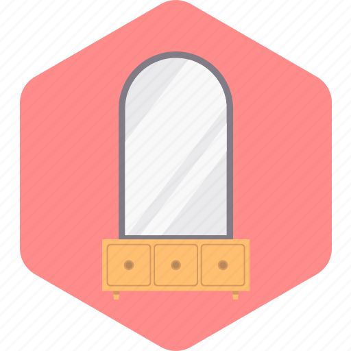 Drawers, dressing, furniture, household, room, table icon - Download on Iconfinder