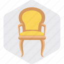 armchair, chair, furniture, home, seat icon