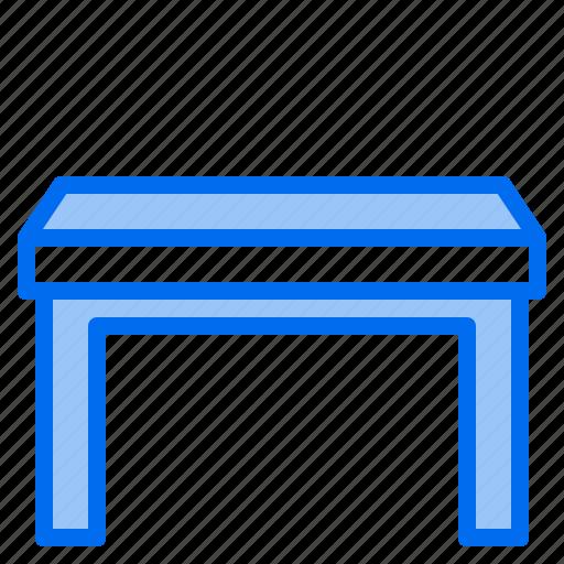 clean, design, furniture, room, splendid, table, tidy icon
