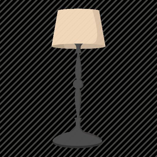 cartoon, decoration, electric, floor, home, lamp, light icon