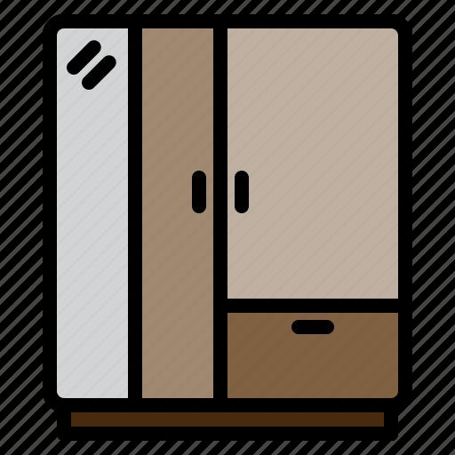clean, design, furniture, room, splendid, tidy, wardrobe icon