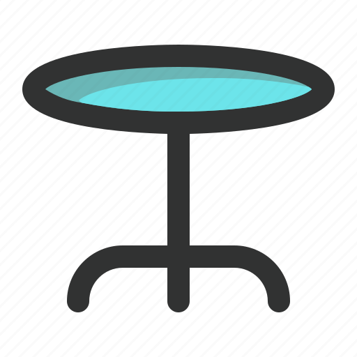 bar, desk, furniture, lounge, table icon