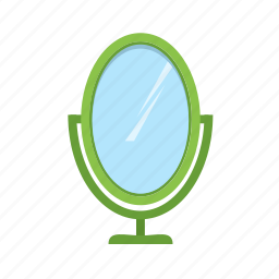 border, decoration, decorative, frame, mirror, ornament, set icon
