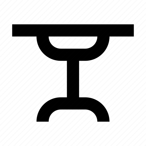 Dining, furniture, lounge, side, table icon - Download on Iconfinder