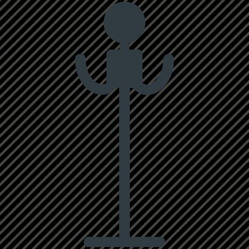 coat hanger, coat hooks, coat rack, coat stand, umbrella stand icon