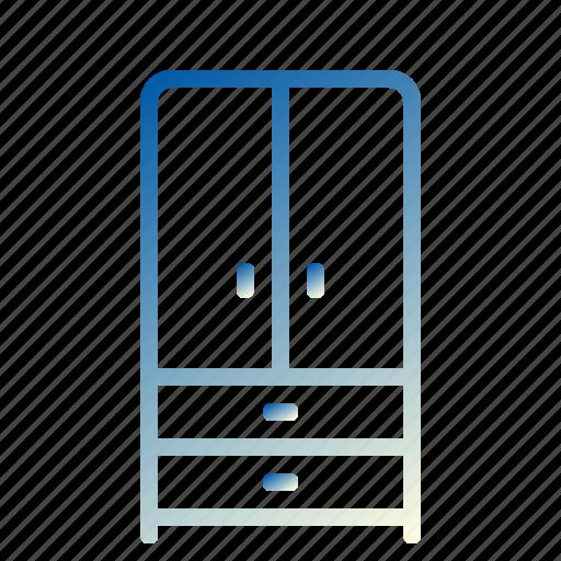 design, furniture, interior, w, web icon