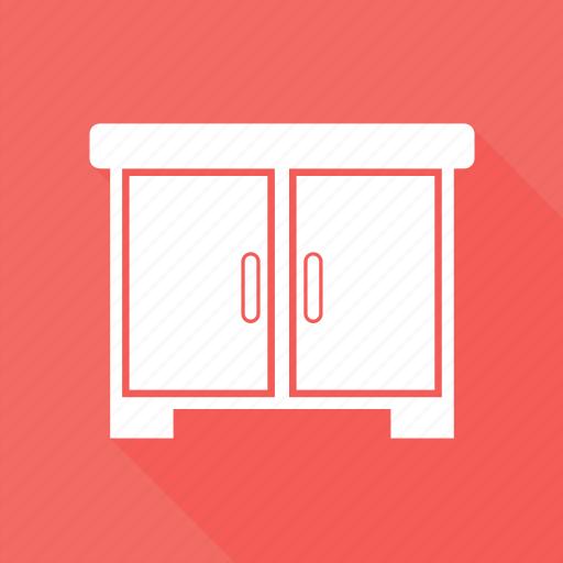 bureau, desk drawer, furniture, office desk, studies icon
