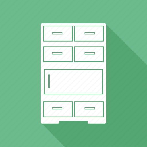 Cabinet, cupboard, furniture, interior icon - Download on Iconfinder