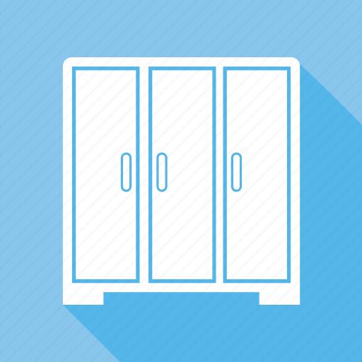 almirah, bureau, cabinet, cupboard, furniture, interior icon