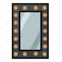furniture, home, interior, lamp miror, miror icon
