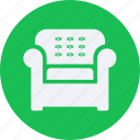 armchair, decorations, furniture, home, household, interior, property icon