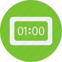 alarm, clock, decorations, furniture, home, household, interior, property icon