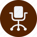 chair, furniture, home, household, interior, office, property icon